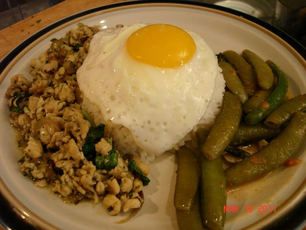 Krapow Gai (Thai-Style Basil Chicken)