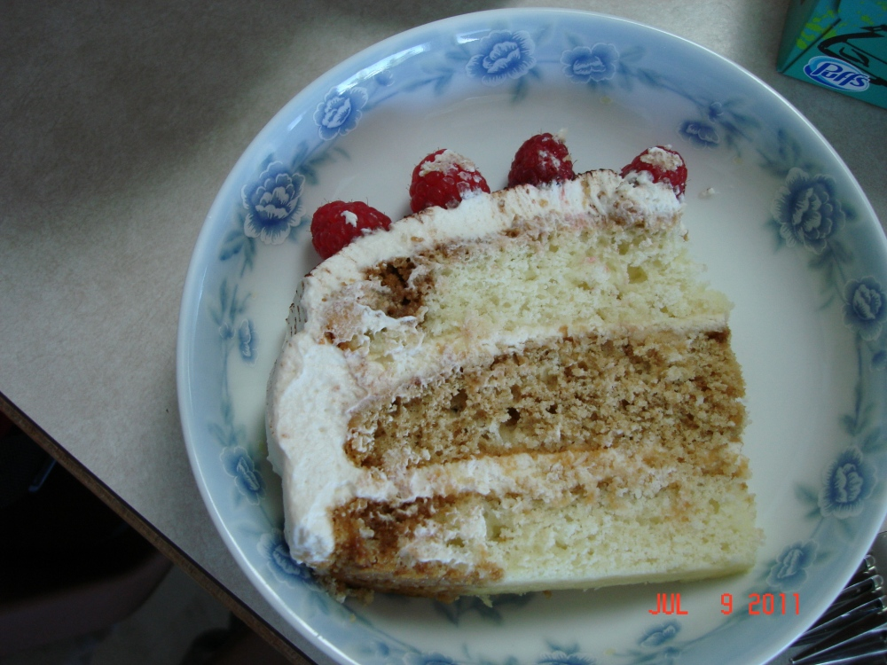 tiramisu layer cake (2/2)