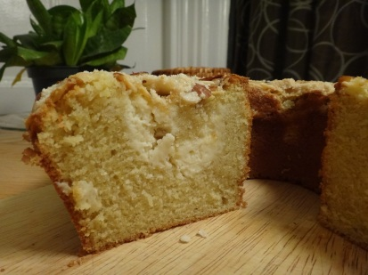 lemony cream cheese coffee cake