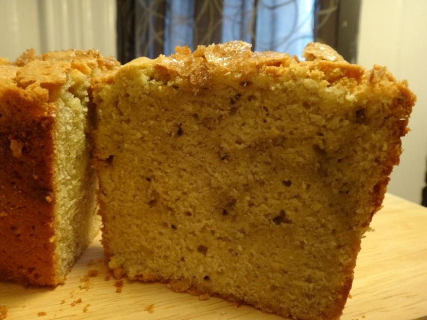 avocado-polenta pound cake