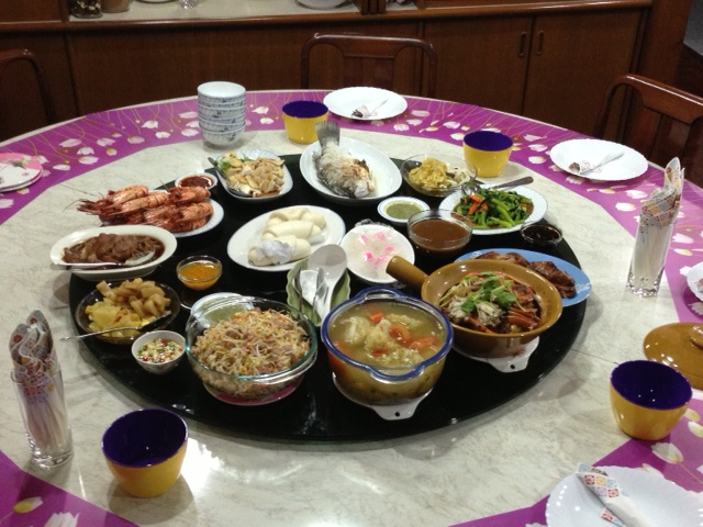 Chinese New Year Dinner, Bangkok, Thailand