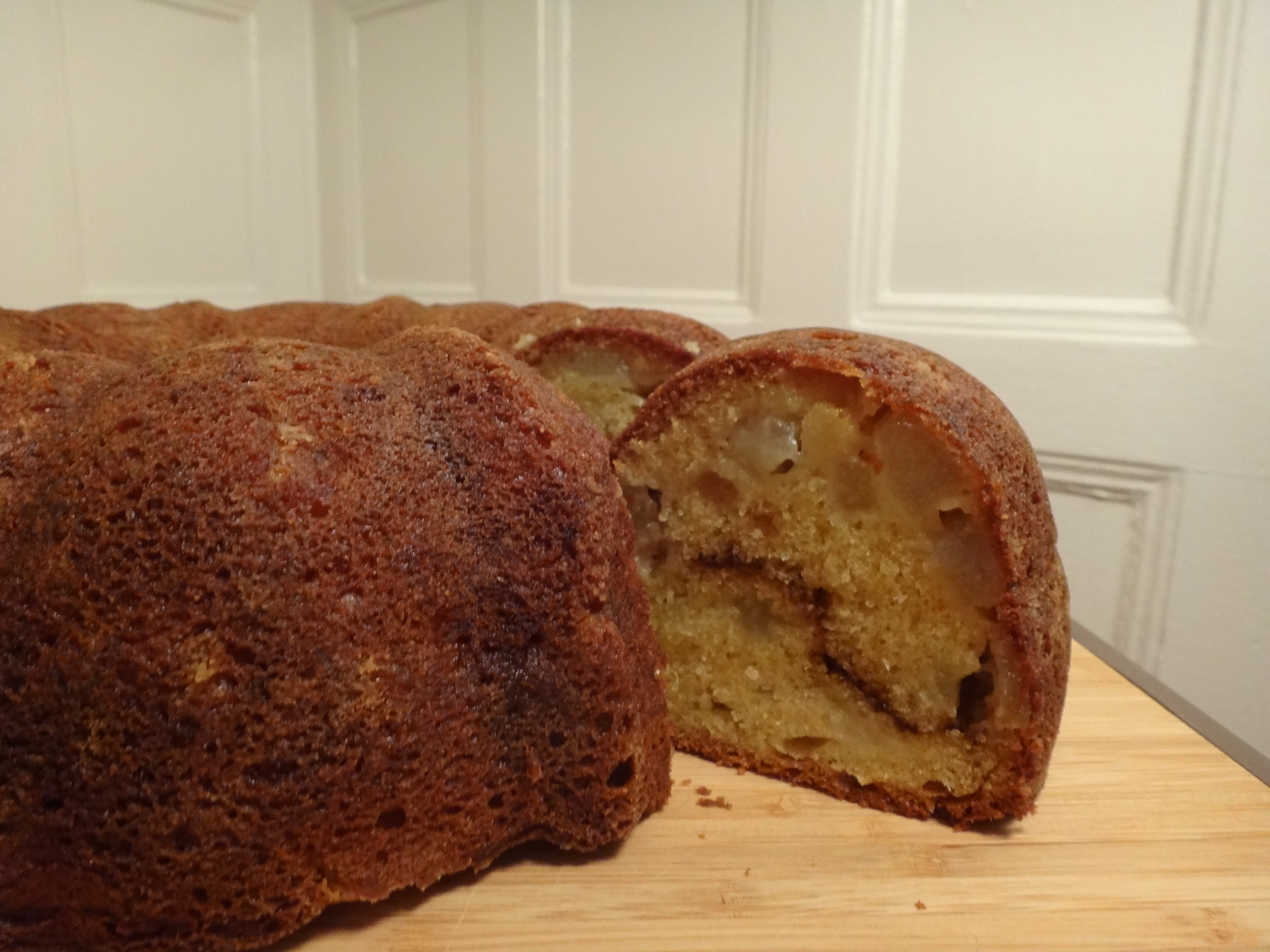 asian pear bundt cake with five-spice swirl | Foodie Joanie