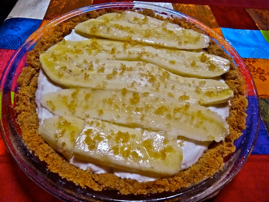 freezer banana cream pie