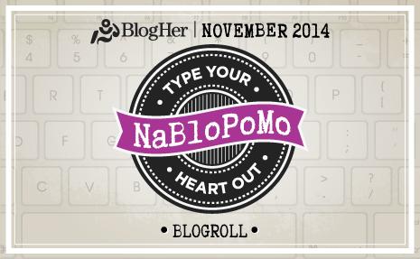 NaBloPoMo Day 2